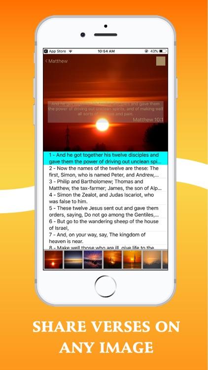 Bible In Basic English - BBE screenshot-5