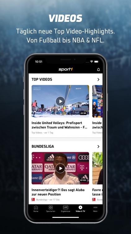 SPORT1: Sport & Fussball News screenshot-6