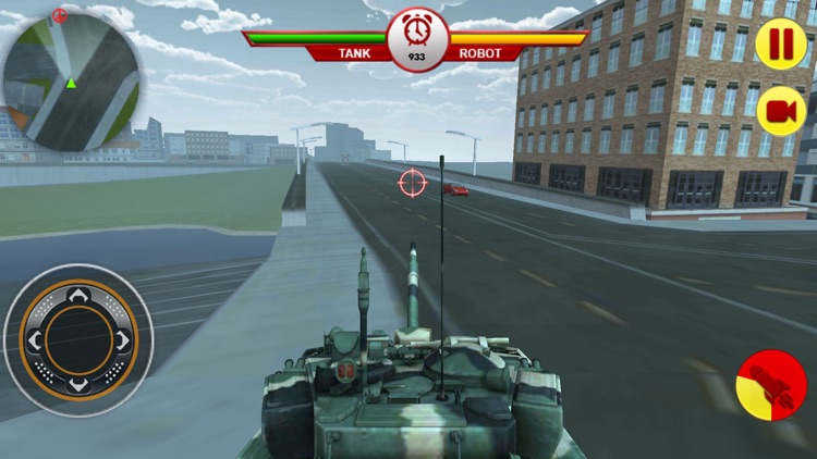Tank Vs Robot: War For Planet screenshot-3