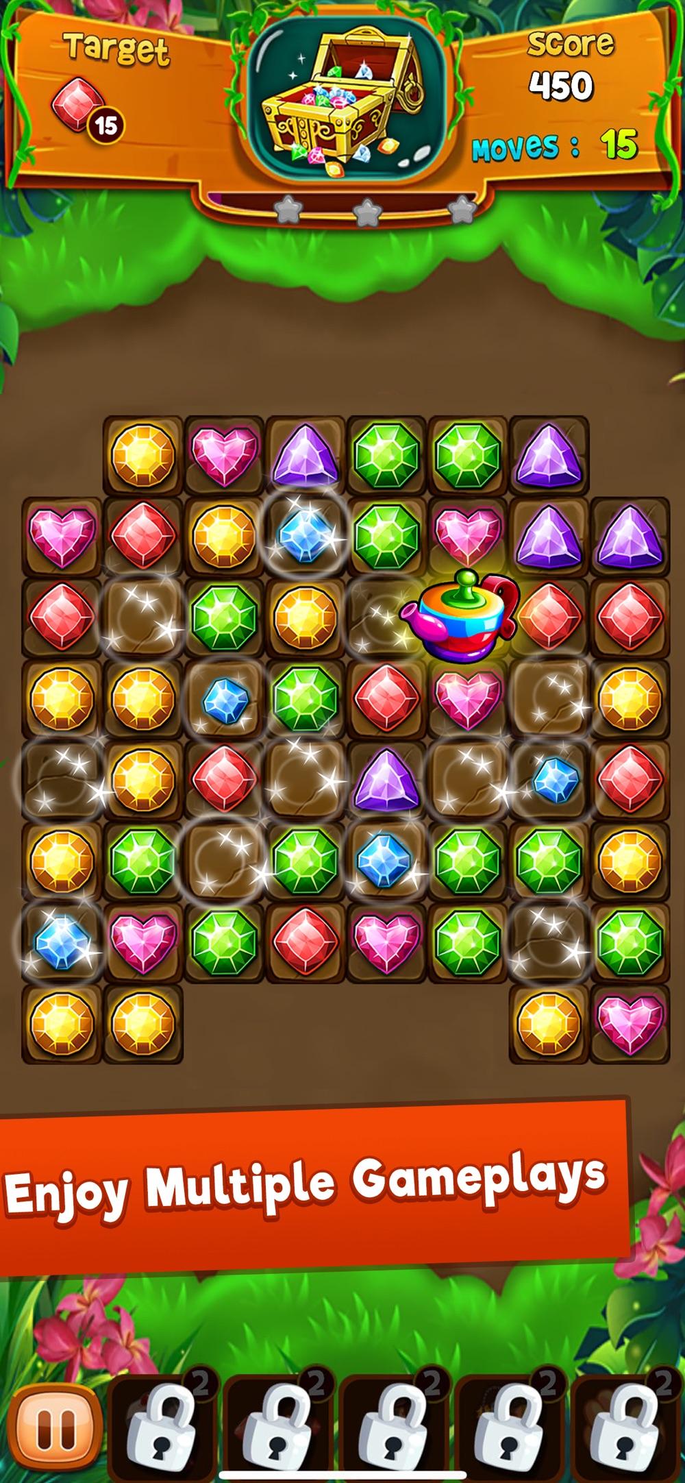 Panda Gems – Match 3 Game Cheat Codes