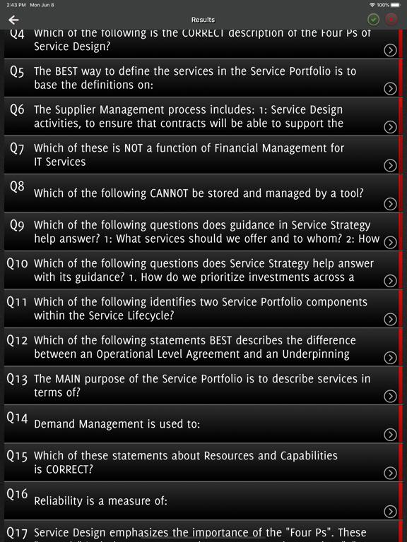 ITIL v4 Exam Foundation screenshot 10