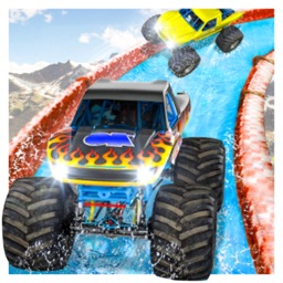 Monster Truck Race : Aquapark