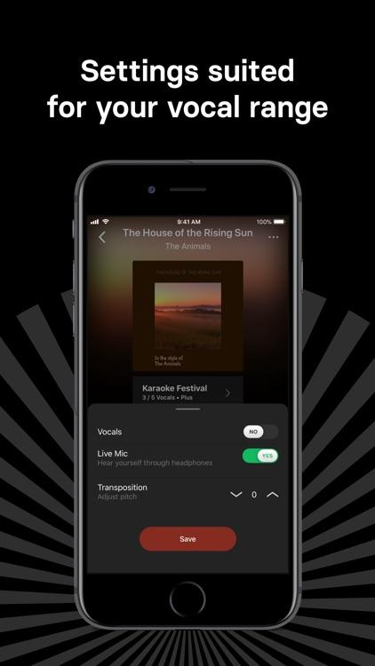 Singa: Sing Karaoke & Lyrics screenshot-3