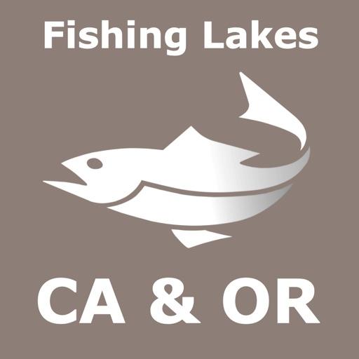California & Oregon Fish Lake