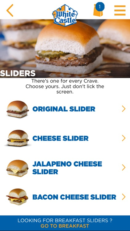 White Castle Online Ordering screenshot-3