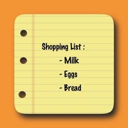 Buyer List - Shopping List