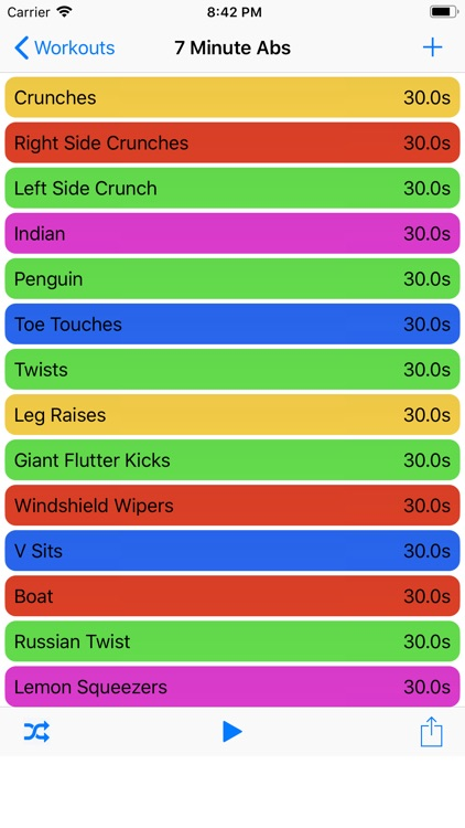 Workout Timers