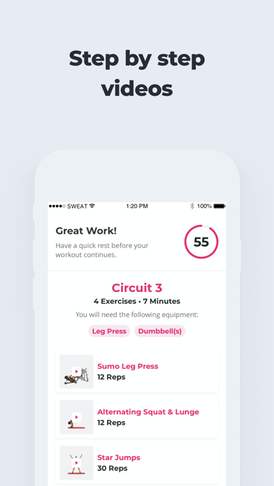 messages.download SWEAT: Kayla Itsines Fitness software