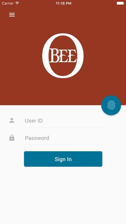 O Bee Mobile Banking