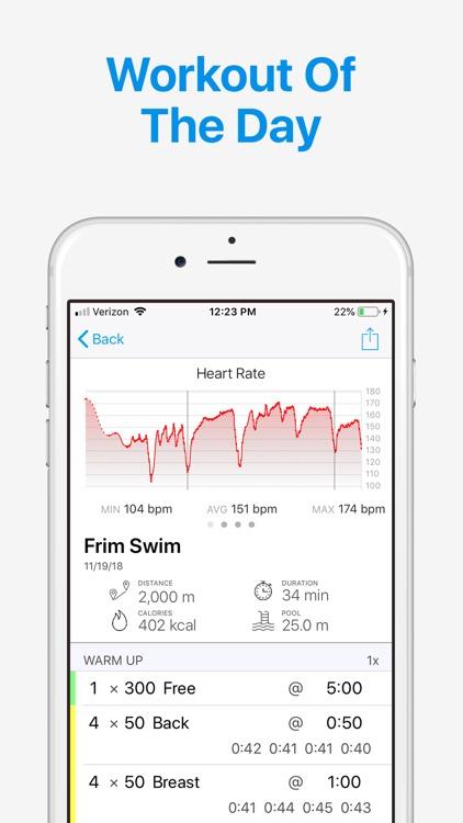 MySwimPro: Swim & Dryland screenshot-5