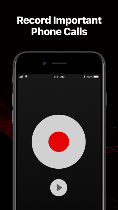 TapeACall Pro - Record Phone Calls. Call Recorder For Interviews on iPhone screenshot