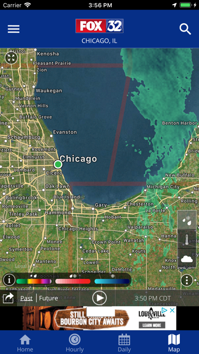 FOX 32: Chicago Local Weather App Data & Review - Weather
