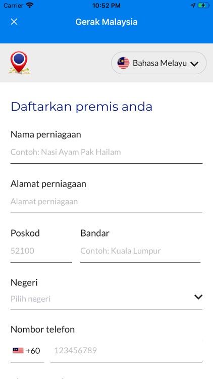GERAK MALAYSIA screenshot-4