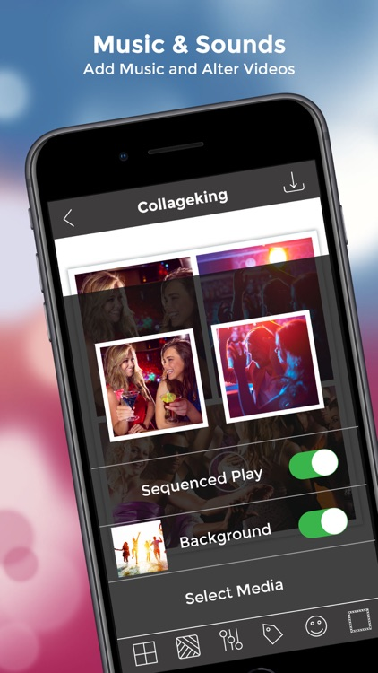 CollageKing pro - Photo, Video screenshot-4