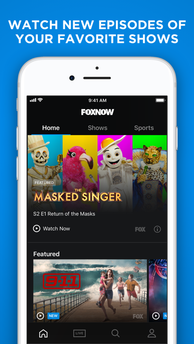 download FOX NOW: Watch TV & Sports apps 2