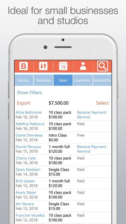 Bobclass Appointment Calendar screenshot-4