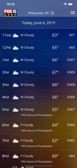 FOX6 Milwaukee Weather dans l'App Store