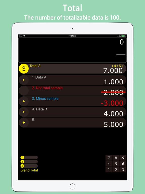 CalcuTotal screenshot 8