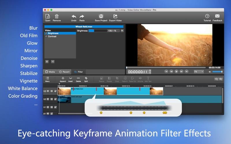 MovieMator Video Editor Pro Screenshots