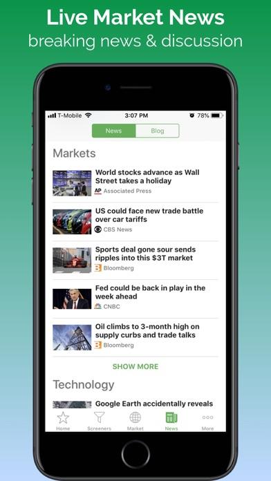 Stock Tracker - Stocks Market Screenshot