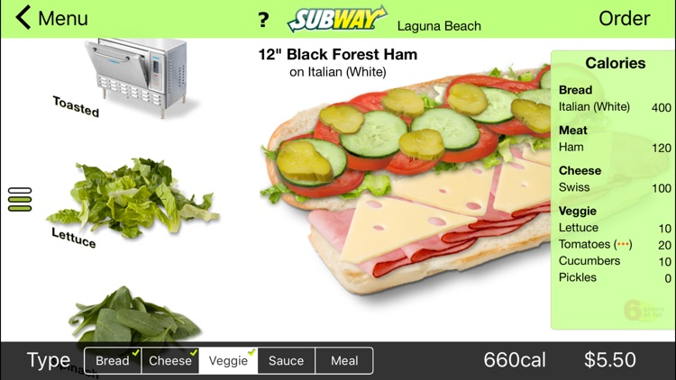 Subway CA screenshot-0