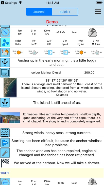 Sailing Logbook and Diary