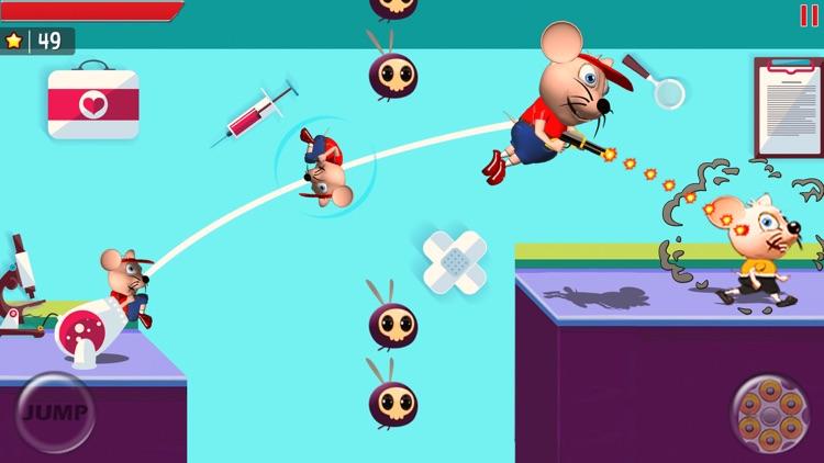 Mouse Mayhem Shooting & Racing screenshot-4