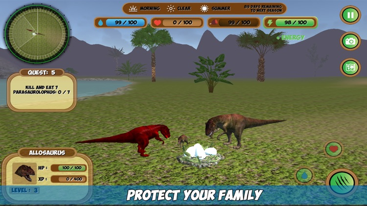 Allosaurus Simulator screenshot-1