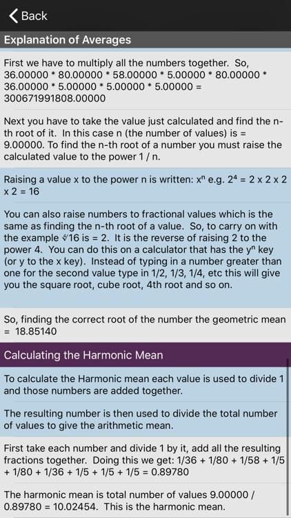 Averages Calculator screenshot-3