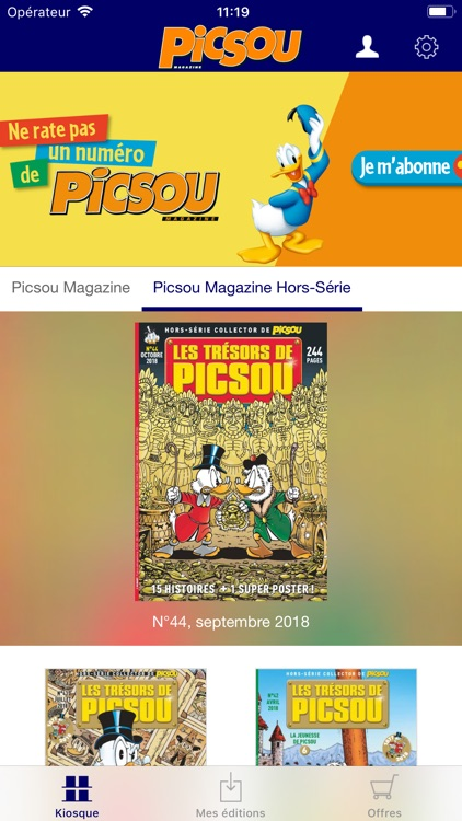 Picsou Magazine screenshot-1