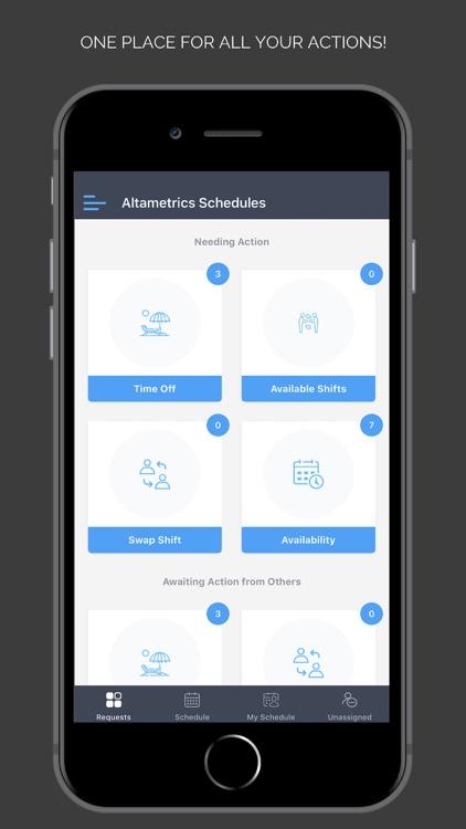 Altametrics Schedules