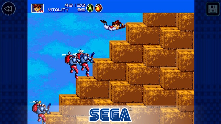Gunstar Heroes Classic screenshot-2