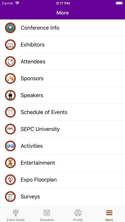 SEPC Events screenshot-4