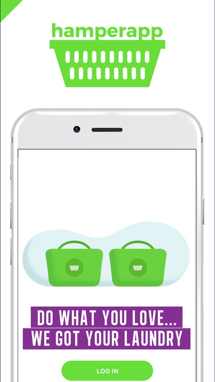 Hamperapp Laundry On-Demand