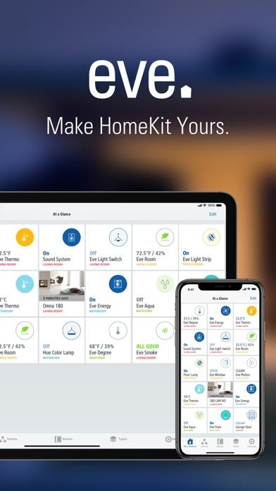Eve pour HomeKit iPhone