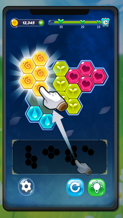 Block Hexa Puzzle : My Flower screenshot 6