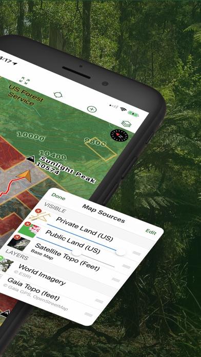 Gaia GPS Hiking, Hunting Maps Screenshot