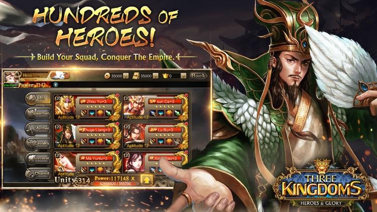 Three Kingdoms: Heroes & Glory screenshot-3