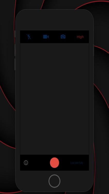 Black Camera - Video Recording screenshot-4