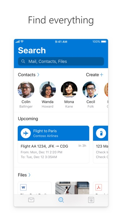 Screenshot for Microsoft Outlook in Israel App Store