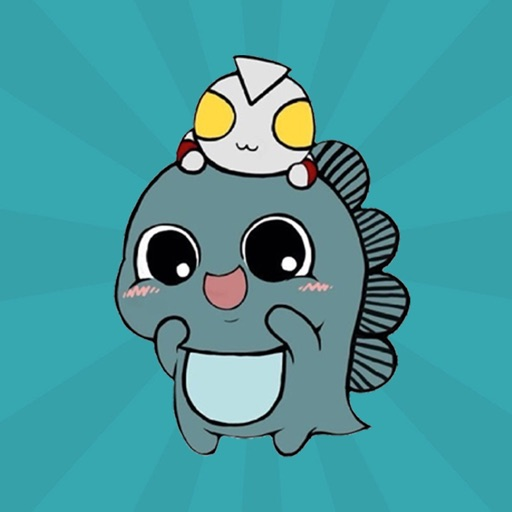 Dynamic cute little monster