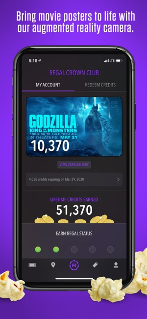 Regal Cinemas on the App Store