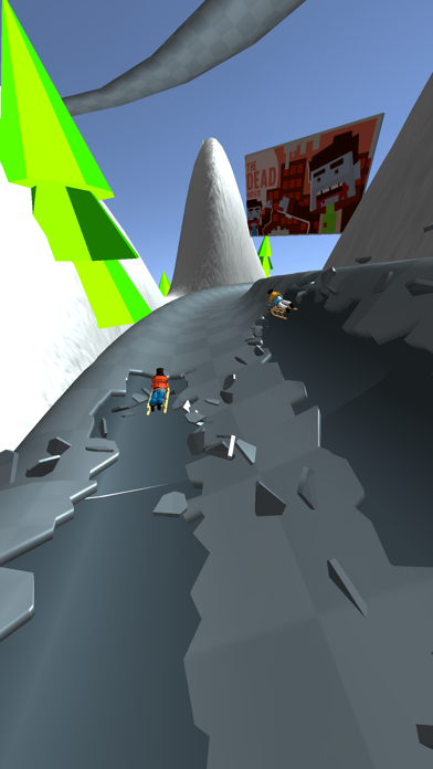 Snow Race! screenshot 3