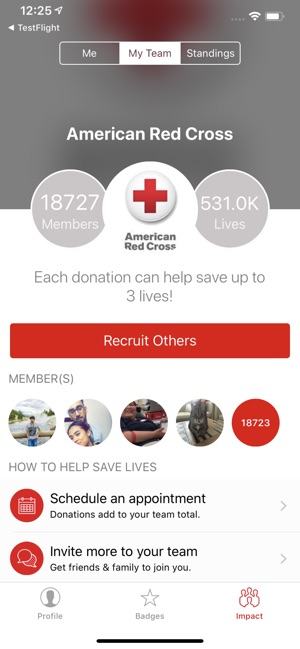Blood Donor American Red Cross on the App Store