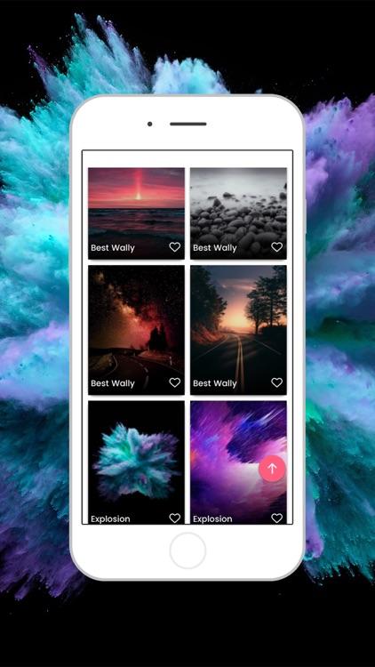 Wallpaper Explosion- 4k & Live screenshot-3