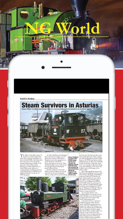 Narrow Gauge World Magazine screenshot-3