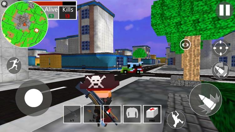 迷你像素世界3:吃鸡战场 screenshot-4