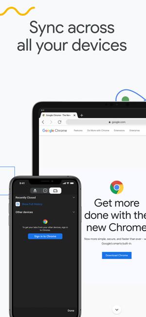 Google Chrome على App Store