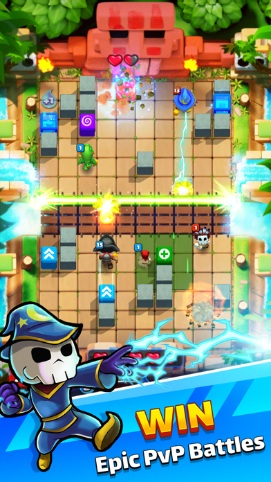 Magic Brick Wars screenshot 3