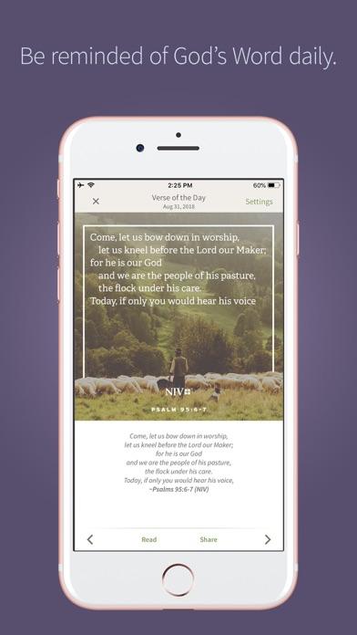 NIV Bible App + screenshot three